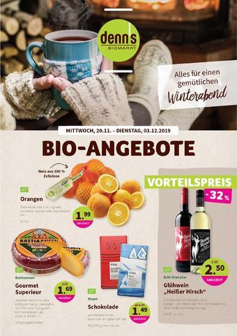 denn's Biomarkt Prospekt (bis einschl. 03-12)