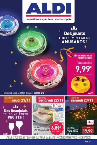 ALDI catalogue publicitaire (valable jusqu'au 24-11)
