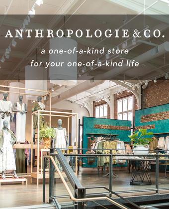 Anthropologie reclame folder (geldig t/m 31-03)