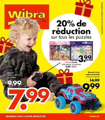 Wibra catalogue publicitaire (valable jusqu'au 30-11)