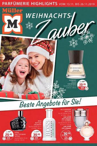 Müller Werbeflugblatt (bis einschl. 26-11)