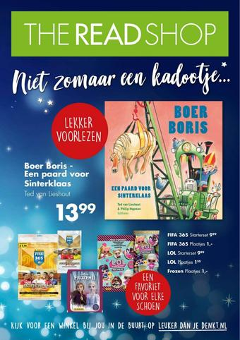 The Read Shop reclame folder (geldig t/m 05-12)