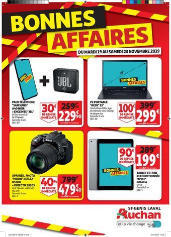 Auchan Direct catalogue publicitaire (valable jusqu'au 24-11)