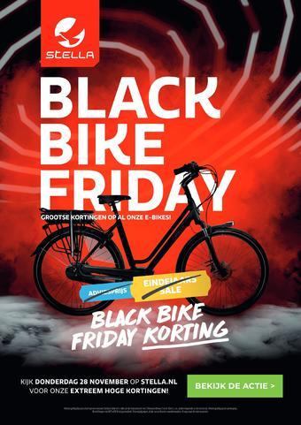 Stella fietsen reclame folder (geldig t/m 23-11)