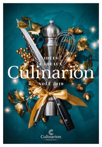 Culinarion catalogue publicitaire (valable jusqu'au 31-12)