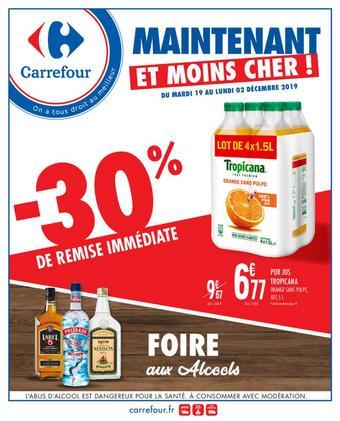 Carrefour catalogue publicitaire (valable jusqu'au 02-12)