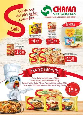 Chama Supermercados catálogo promocional (válido de 10 até 17 01-12)
