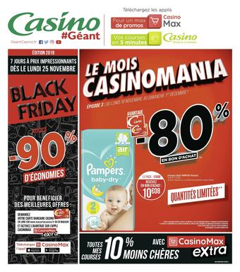 Géant Casino catalogue publicitaire (valable jusqu'au 01-12)