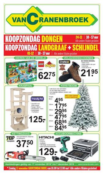 Van Cranenbroek reclame folder (geldig t/m 07-12)