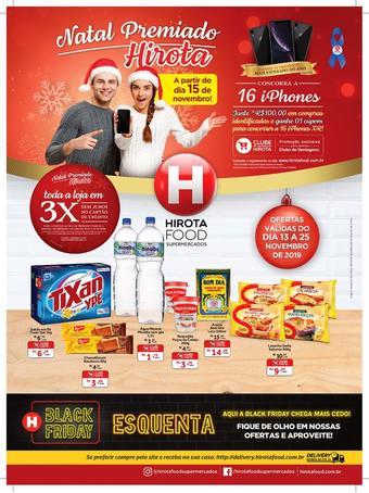 Hirota Food Supermercado catálogo promocional (válido de 10 até 17 25-11)