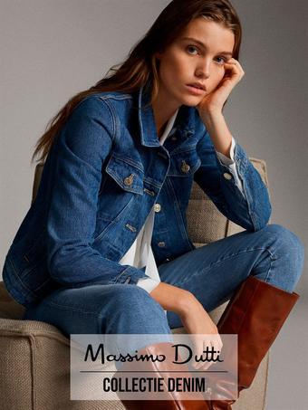 Massimo Dutti reclame folder (geldig t/m 15-01)