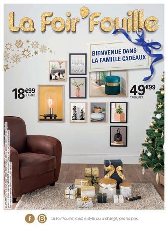La Foir'Fouille reclame folder (geldig t/m 30-11)