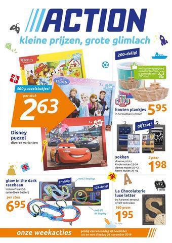 Action Werbeflugblatt (bis einschl. 26-11)