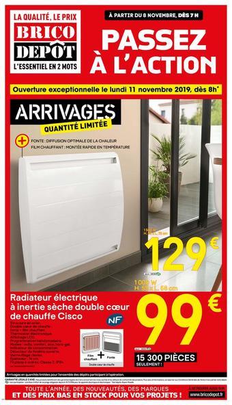 Brico Dépôt catalogue publicitaire (valable jusqu'au 21-11)