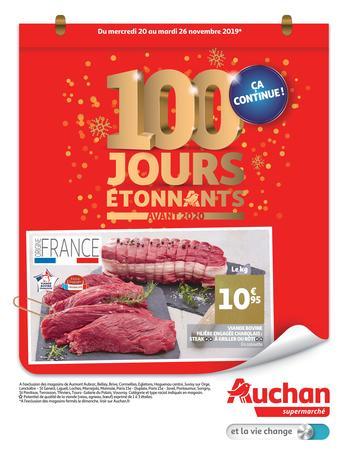 Auchan catalogue publicitaire (valable jusqu'au 26-11)