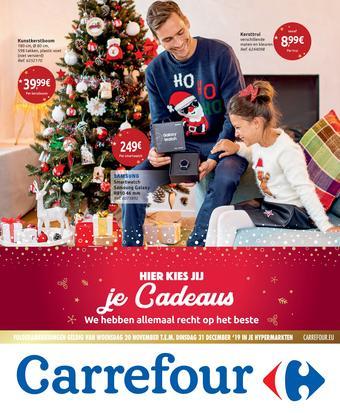 Carrefour reclame folder (geldig t/m 31-12)