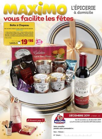 Maximo catalogue publicitaire (valable jusqu'au 25-12)