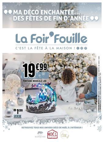 La Foir'Fouille catalogue publicitaire (valable jusqu'au 24-11)