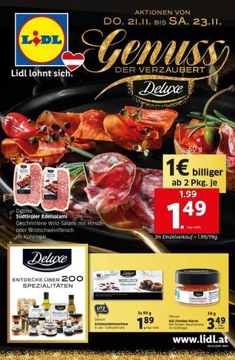 Lidl Werbeflugblatt (bis einschl. 27-11)