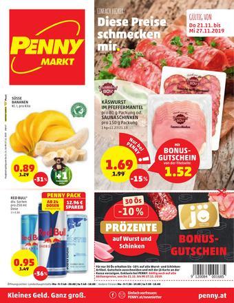 PENNY Werbeflugblatt (bis einschl. 27-11)