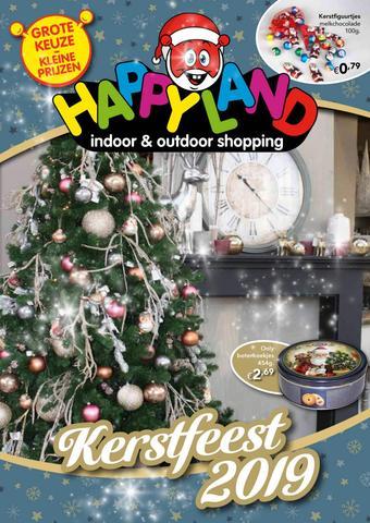 Happyland reclame folder (geldig t/m 31-12)