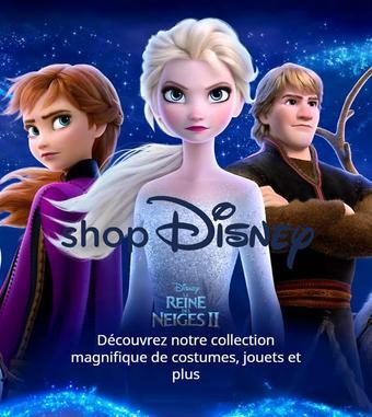 Shop Disney catalogue publicitaire (valable jusqu'au 16-12)