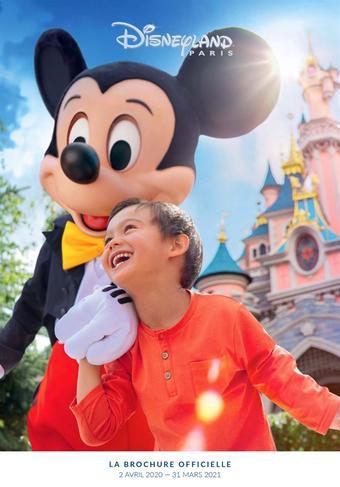 Disneyland Paris catalogue publicitaire (valable jusqu'au 31-03)