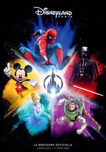 Disneyland Paris catalogue publicitaire (valable jusqu'au 01-04)