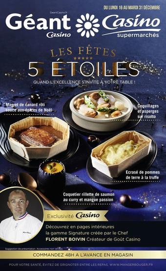 Géant Casino catalogue publicitaire (valable jusqu'au 31-12)