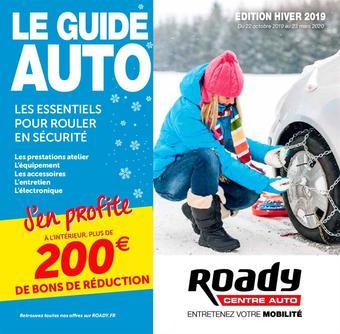 Roady catalogue publicitaire (valable jusqu'au 23-03)