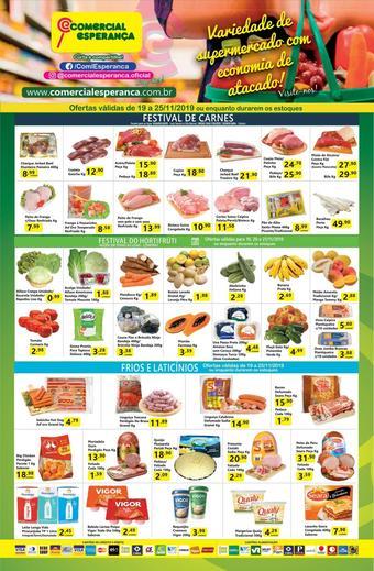 Comercial Esperança catálogo promocional (válido de 10 até 17 25-11)