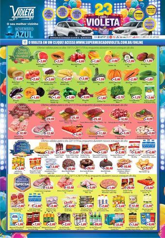 Violeta Supermercados catálogo promocional (válido de 10 até 17 24-11)