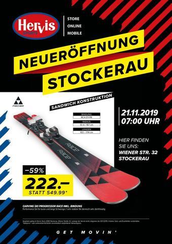 Hervis Werbeflugblatt (bis einschl. 21-11)
