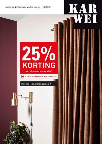 Karwei reclame folder (geldig t/m 01-12)