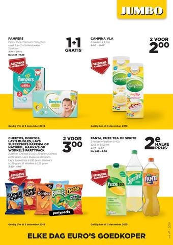 Jumbo Foodmarkt reclame folder (geldig t/m 26-11)