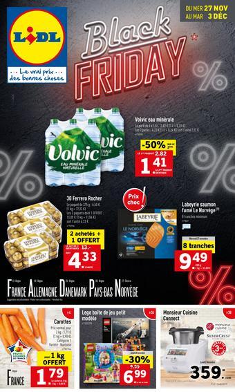 Lidl catalogue publicitaire (valable jusqu'au 03-12)
