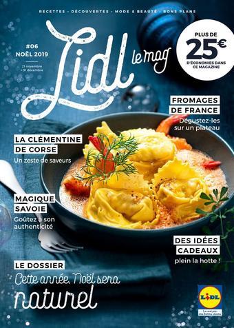 Lidl catalogue publicitaire (valable jusqu'au 31-12)
