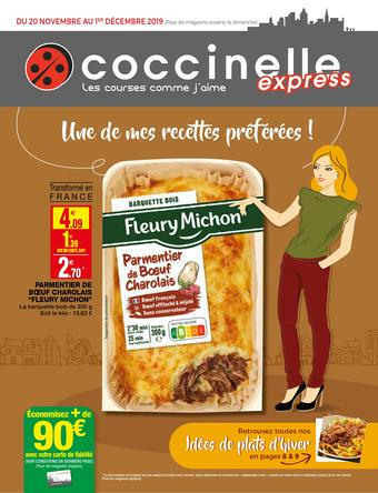 Coccinelle Express catalogue publicitaire (valable jusqu'au 01-12)
