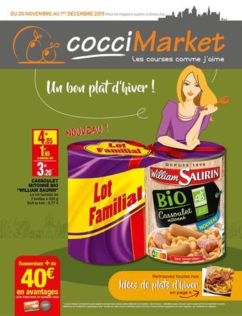 Coccimarket catalogue publicitaire (valable jusqu'au 01-12)