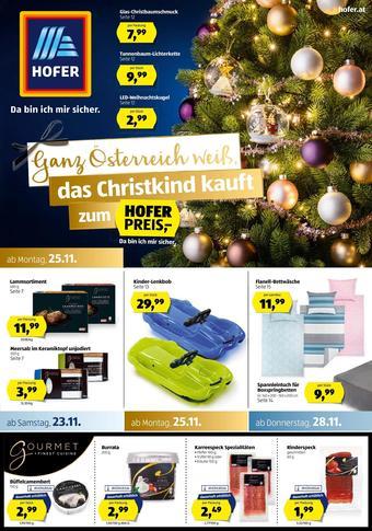 Hofer Werbeflugblatt (bis einschl. 30-11)