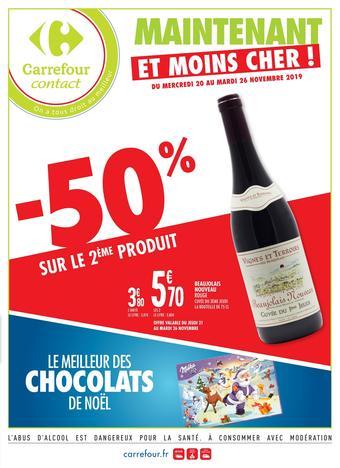 Carrefour Contact catalogue publicitaire (valable jusqu'au 26-11)