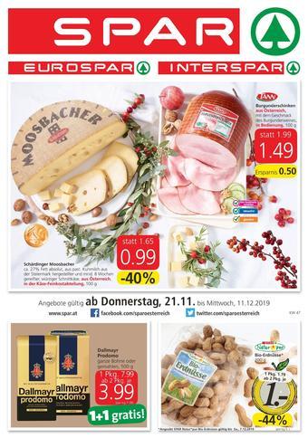 Spar Werbeflugblatt (bis einschl. 11-12)