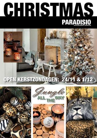 Paradisio reclame folder (geldig t/m 01-12)