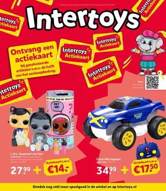 Intertoys reclame folder (geldig t/m 08-12)