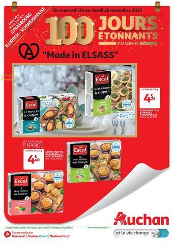 Auchan Direct catalogue publicitaire (valable jusqu'au 26-11)