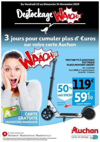 Auchan Direct catalogue publicitaire (valable jusqu'au 23-11)