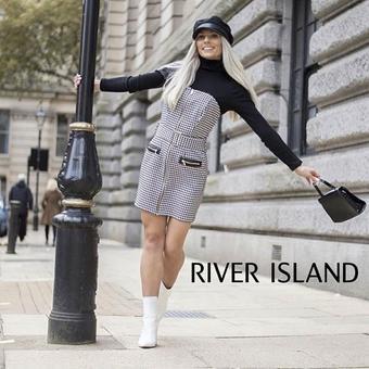 River Island reclame folder (geldig t/m 20-01)