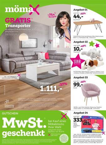 Mömax Werbeflugblatt (bis einschl. 30-11)