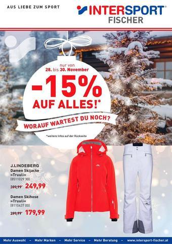 Intersport Werbeflugblatt (bis einschl. 30-11)