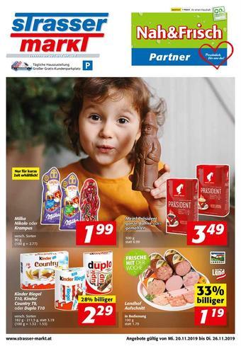 Strasser Markt Werbeflugblatt (bis einschl. 26-11)